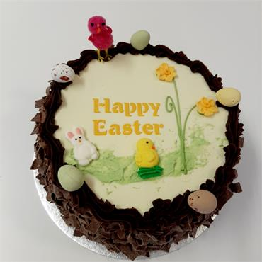 Easter Chocolate Gateaux