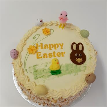 Easter Lemon Gateaux