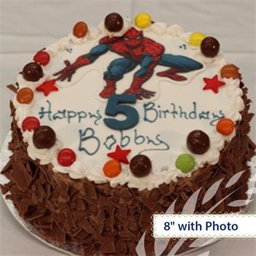 Chocolate Maderia Birthday Cake