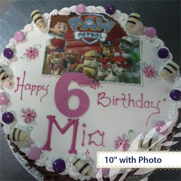 Chocolate Sponge Birthday Cake