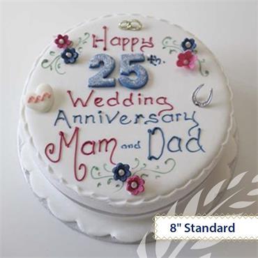 Maderia Anniversary Cake