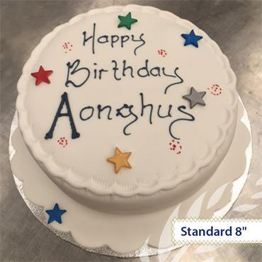 Maderia Birthday Cake
