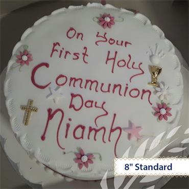 Maderia Communion Cake
