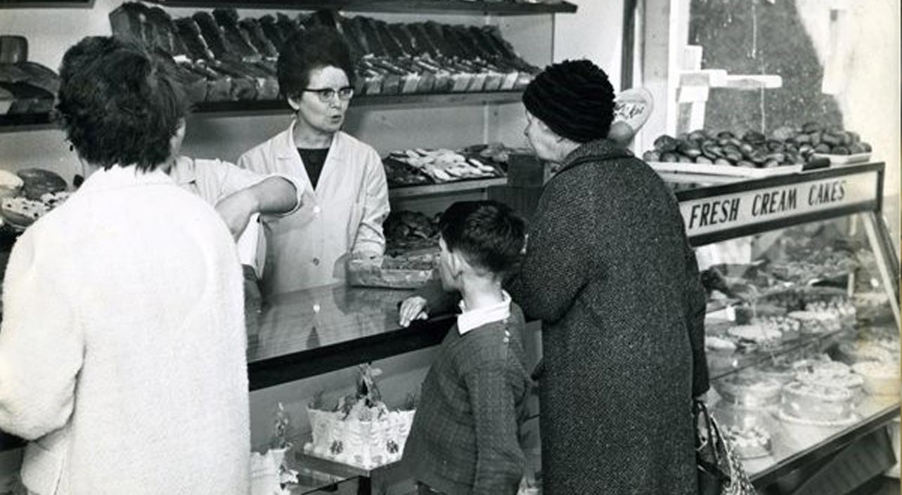 O'Connors Bakery vintage photo