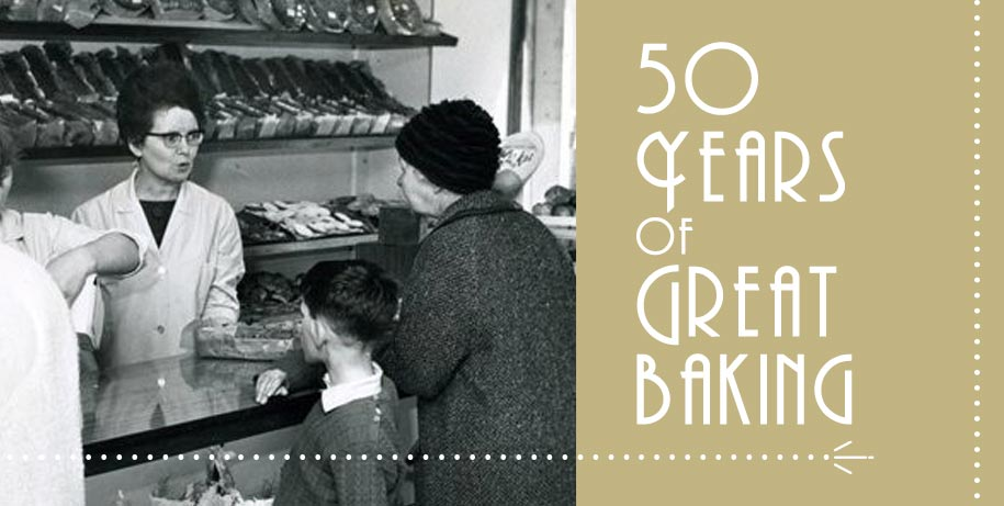 O'Connors 50 years of Great Baking