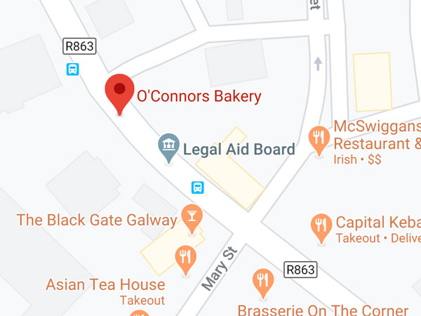 O'Connors Bakery, 3 Francis Street Galway H91 XF1P