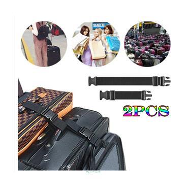 Add-a-Bag Luggage Straps (2 Straps 50cm & 30cm Sizes)