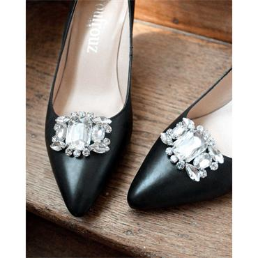 Albane Crystal Shoe Clips