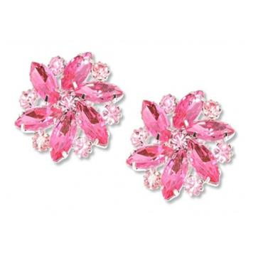Amanda Shoe Clips - Pink