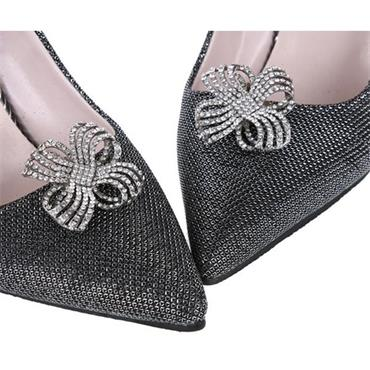 Athena Crystal Shoe Clips by Absolutely Audrey