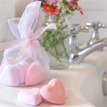 Heart Bath Fizzers