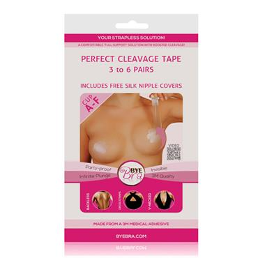 Bye Bra Perfect Cleavage Tape Size A-F