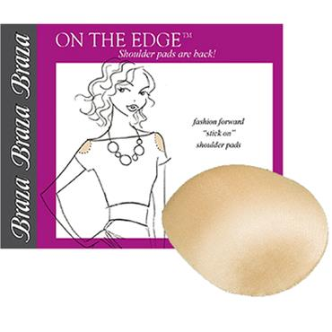 On the Edge Shoulder Pads – Stick-on Shoulder pads – reusable