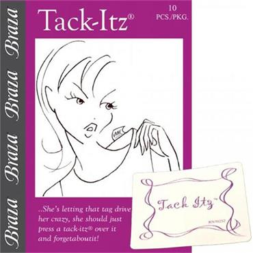 Tack-Itz - No More Scratchy Labels
