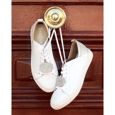Calie Crystal Oval Shoe Clips