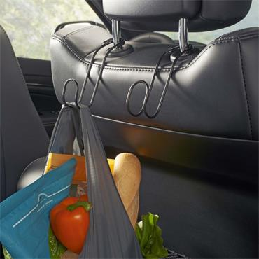 High Road Contour Car Hooks - Handbag Hanger Hooks for Car