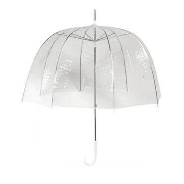 Transparent PVC Manual Opening Umbrella - Shipping to Ireland Only