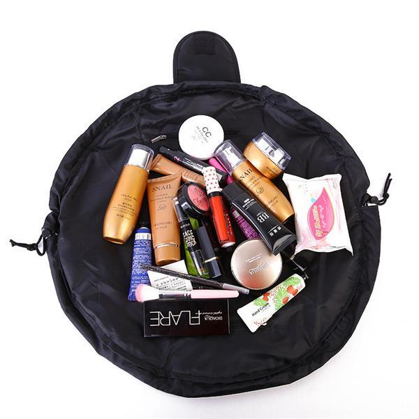 Drawstring Portable Makeup Bag, Travel Cosmetic Make Up ...