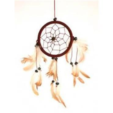Large Feathered Dreamcatcher 20cm