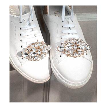 Eddie Shoe Clips Crystal Rhinestone