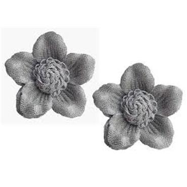 Elena Shoe Clips - Grey