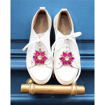 Fara Fuchsia Shoe Clips