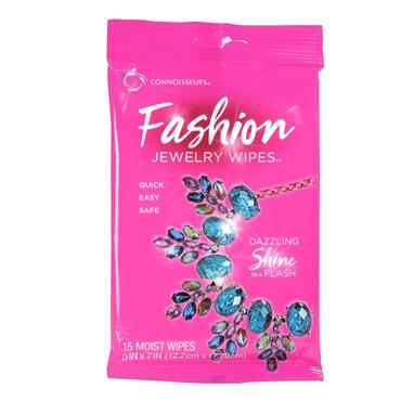 Fashion Jewellery Wipes from Connoisseurs