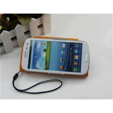 Flip Magnet Leather Mobile Phone Case for Samsung Galaxy S4