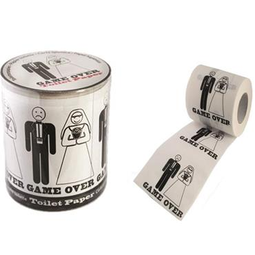 Wedding Toilet Paper - Game Over