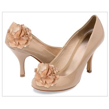 Gia Shoe Clips Beige