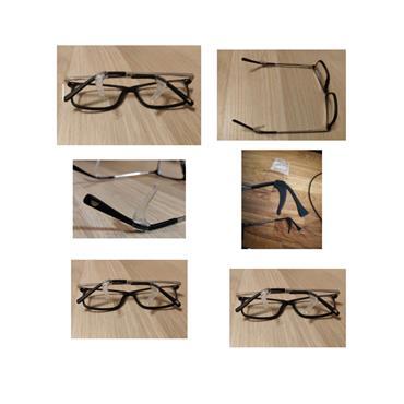 Eye Glasses temple sizing grip