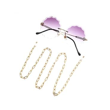 Gold Link Glasses Chain