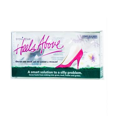 Heels Above High Heel Protectors - 4 Pack Clear