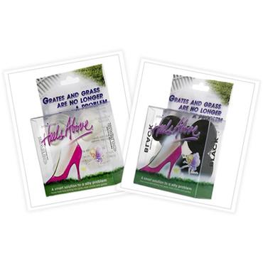 Heels Above High Heel Protectors - Clear