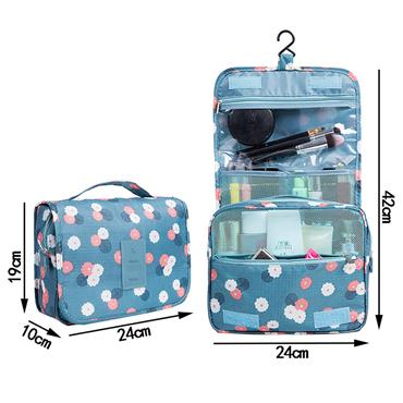 Travel Toiletry/Cosmetic Hanging Storage Case