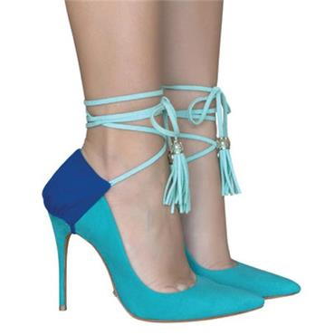 Blue Crush Heel Covers