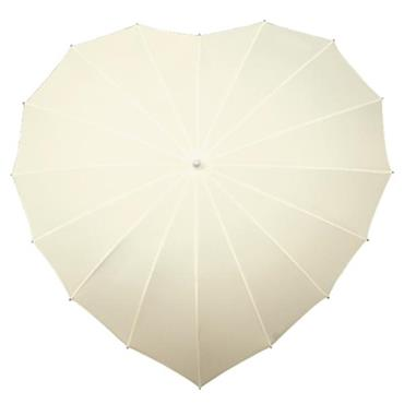Ivory Heart Umbrella - Shipping to Ireland Only