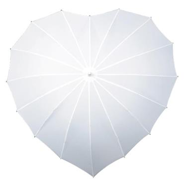 White Heart Umbrella - Shipping to Ireland Only
