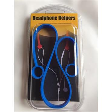 Headphone Helpers - Blue