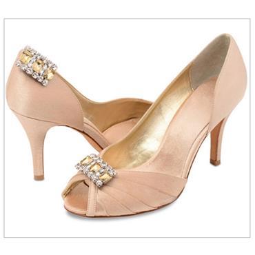 Katie Shoe Clips Gold
