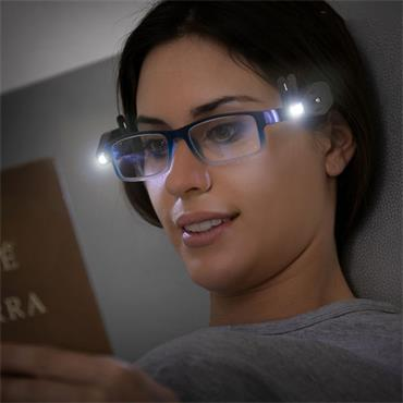 360º LED Glasses Clip (Pack of 2)