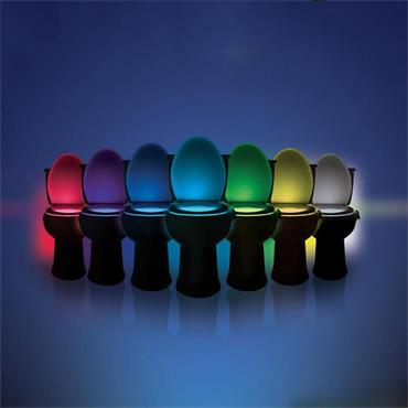 LED Toilet Night Light – Motion Sensor with 8 Colour changes
