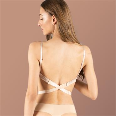 Low Back Bra Strap 3 Hook 3 Colours