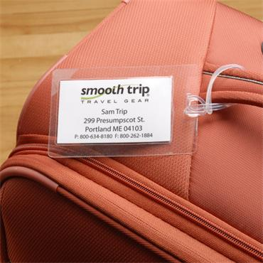 Self Laminating Luggage Tags
