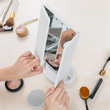 4 in 1 Magnifying LED Mirror