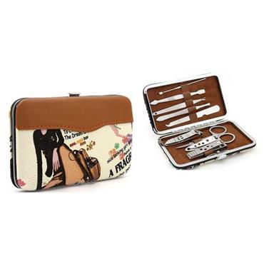 Vogue Style Manicure Kit - 9 Piece