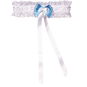 Wedding Garter White
