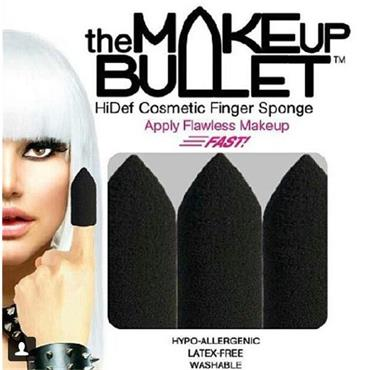 The Makeup Bullet – HiDef Cosmetic Finger Sponge - 3 PACK