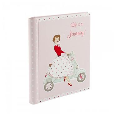 Mrs Smith Notebook - Life is a Journey