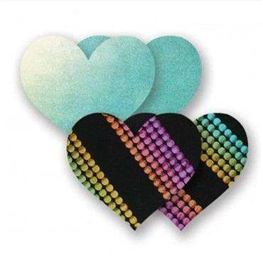 Nippies Midnight Rainbow Heart